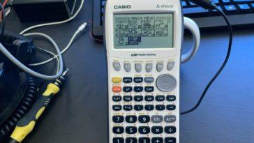 Internet en una calculadora Casio