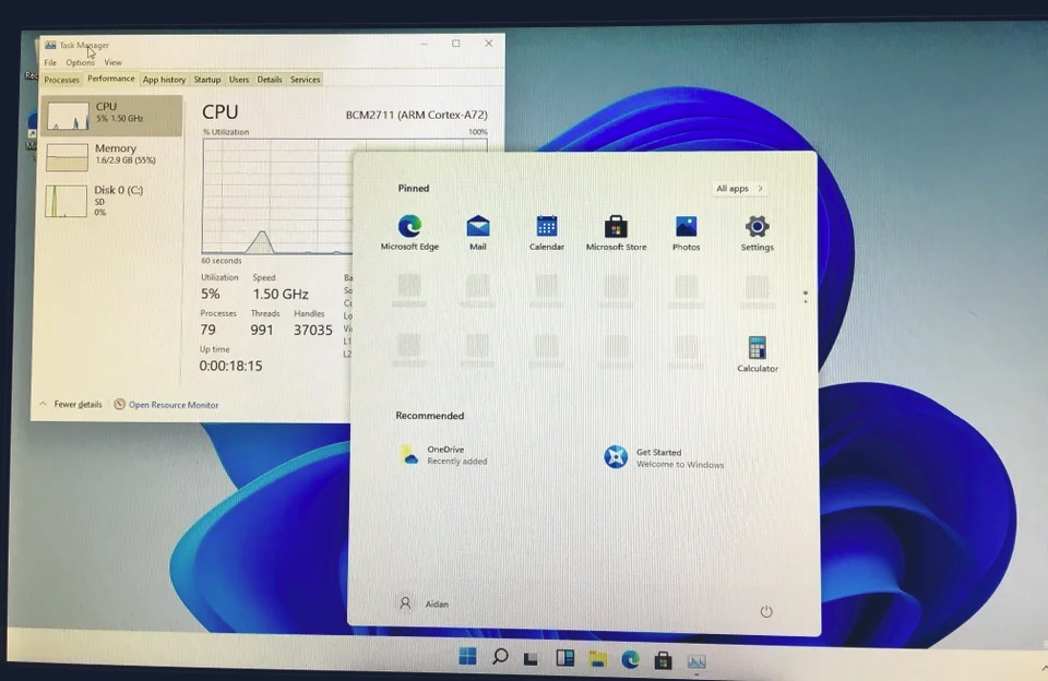 Windows 11 Raspberry Pi 4
