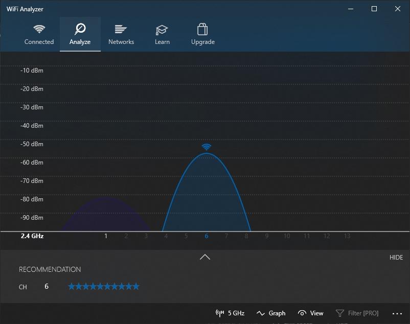 wifi analyzer windows