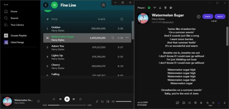 Cómo encontrar la letra de las canciones de Spotify