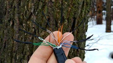 Empalmar cable de red