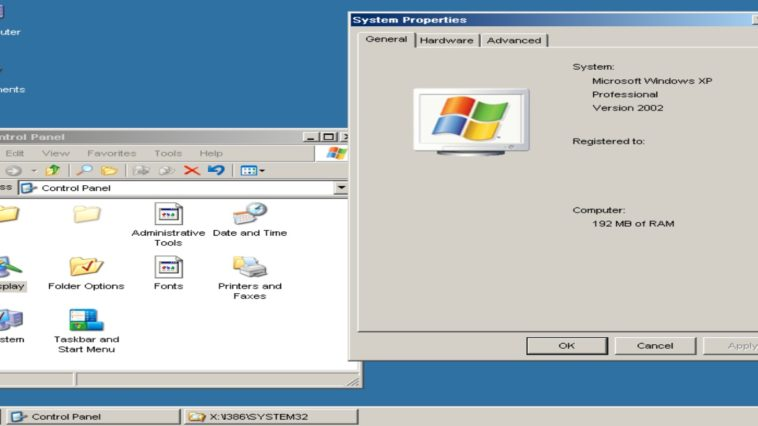Windows XP online