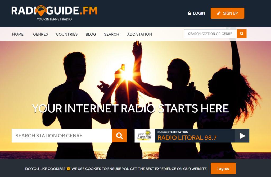 sitios de radio online