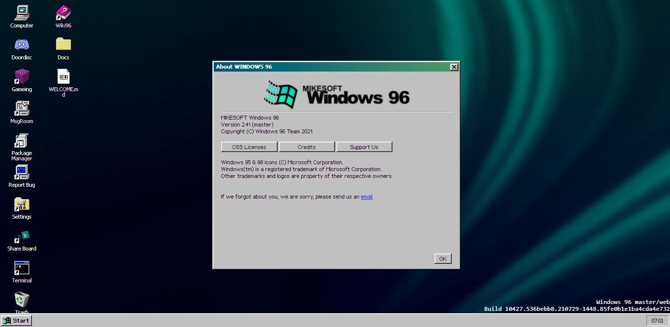 Windows 96