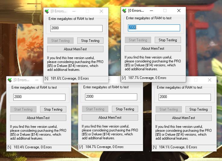 Cómo testear memoria RAM desde Windows