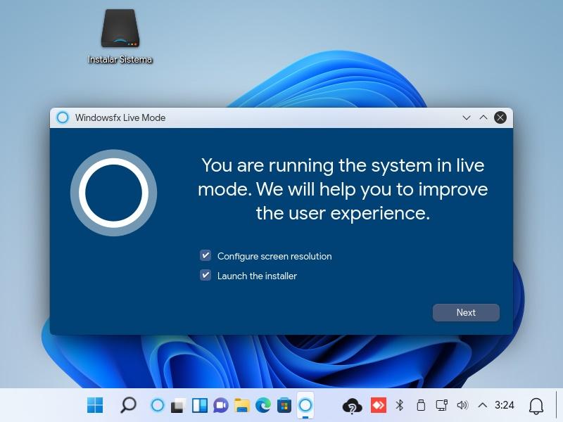 clon de Windows 11