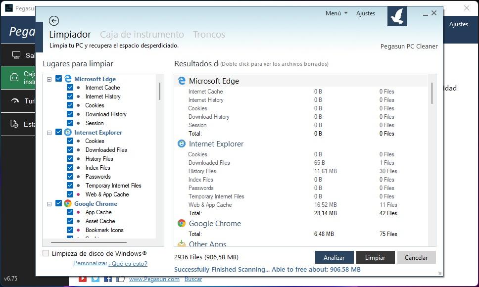 Mejora el rendimiento del PC en Windows