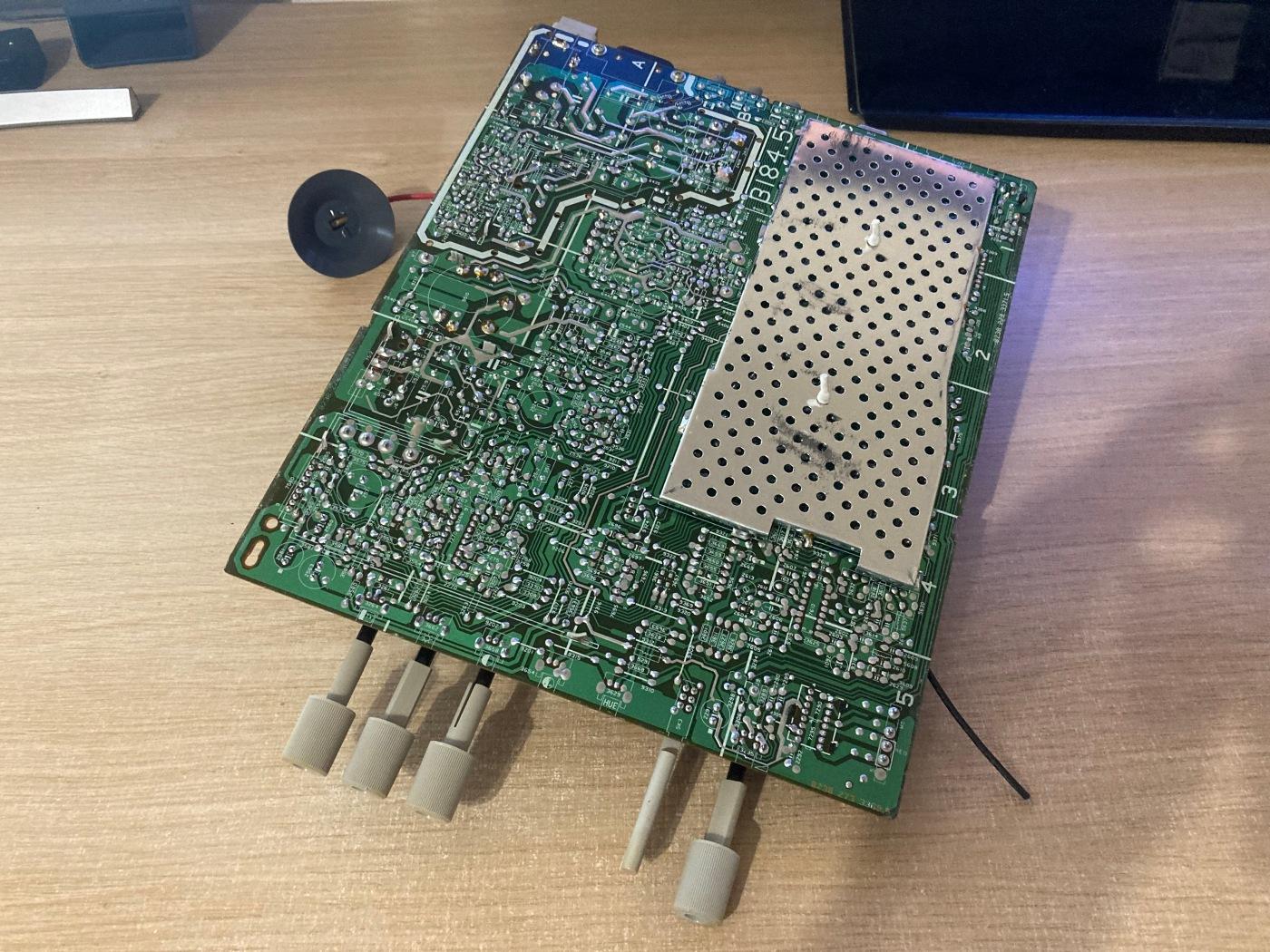 Reparando un monitor CRT
