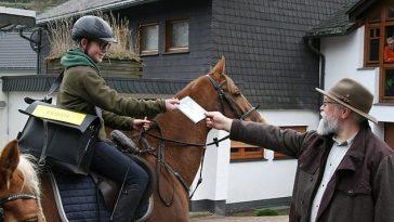 Internet alemana versus caballo
