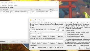leer imágenes de discos floppy
