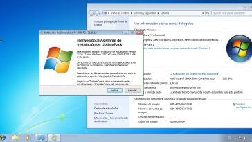Cómo Actualizar Windows 7 de forma manual