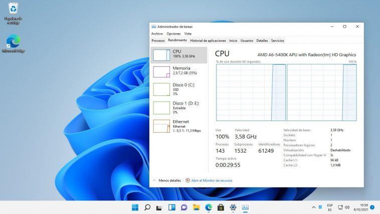 Windows 11 en PCs sin soporte