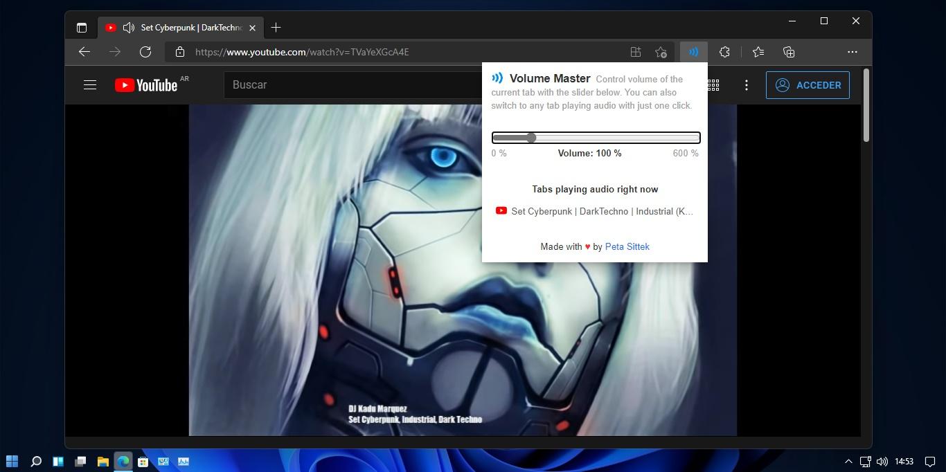 Cómo aumentar el volumen de Chrome