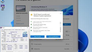Pentium 4 en Windows 11
