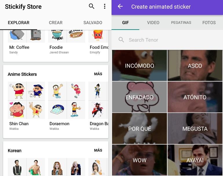 Stickers graciosos para WhatsApp
